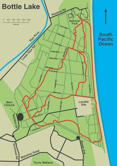 Bottle Lake Forest Bike Track