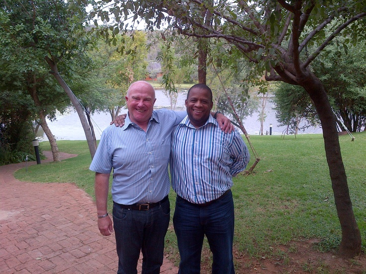 Deon & Perry from Capitec Bank - our good old friends.