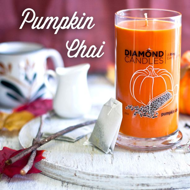 Pumpkin Chai soy candles are back in stock! Pin & Click 2 shop!