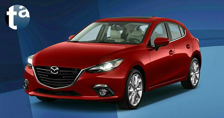 076 - BLUE HARMONY #Mazda #Mazda3 5-door Hatchback Touring SKYACTIVE Soul Red Metallic