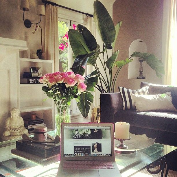 From Shay Mitchel's Instagram: Her beautiful home!  Love it!!