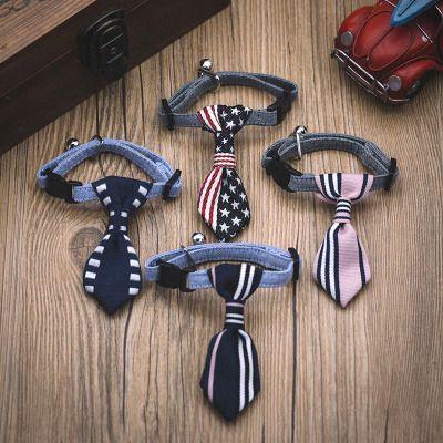 Accesorios para mascotas Collar de corbata para perros Arco de peluche Corbata de gato para perros Bufanda británica de triángulo corto