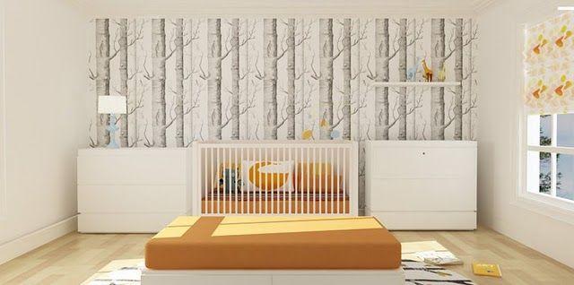 nursery. ideal composition.