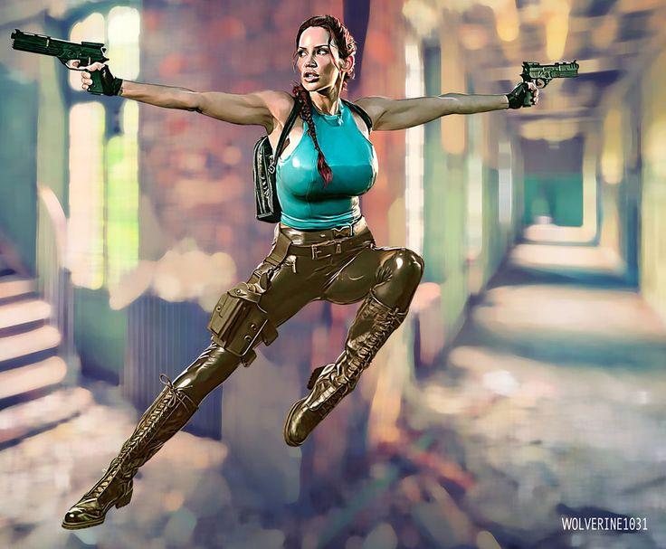 Tomb Raider - Lara Croft - Bianca Beauchamp by wolverine1031
