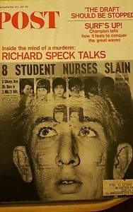 Vintage Post Magazine July 1 1967, Richard Speck