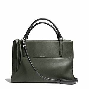 Coach - The Borough Bag....a great bag for work, school or internship.