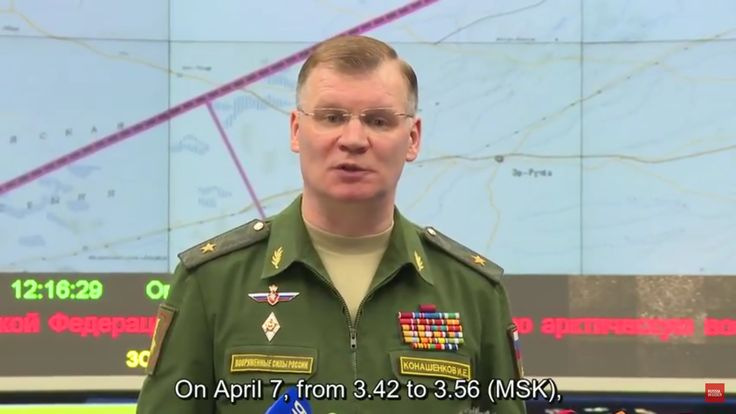 "Latest News and Videos :Russia Responds To The U.S. Strike In Syria-Russian MoD: ""US Missile Attack on Syrian Airbase Prepared Long Time Ago"""