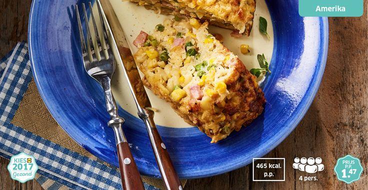 Macaroni-kaas taart #Lidl #kiesgezond #LekkerLidl