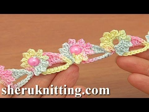 Free Crochet Pattern For Cords Tutorial 72 Crochet Flower