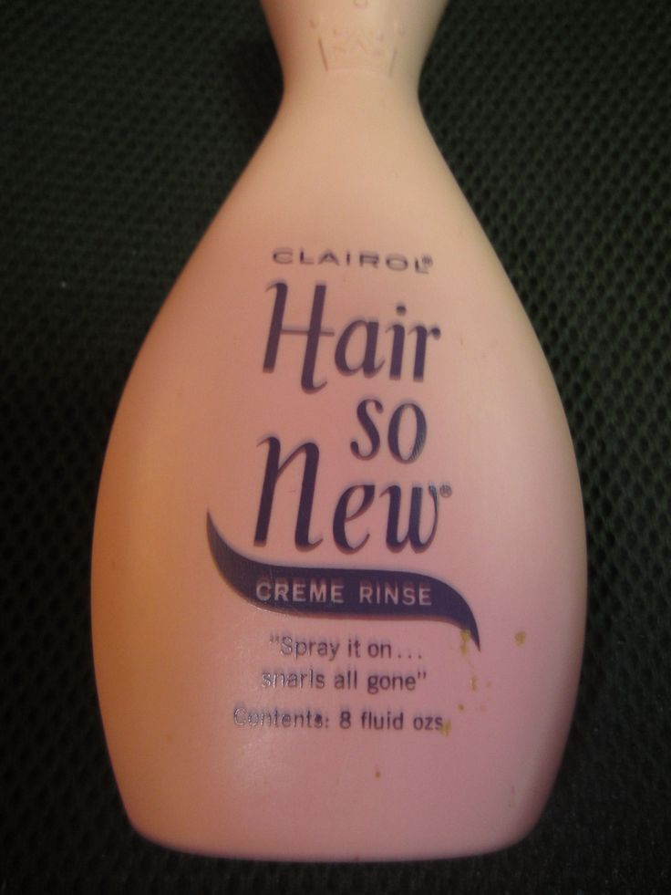 Vintage Clairol Hair So New Creme Rinse Pink Bottle Quot Spray