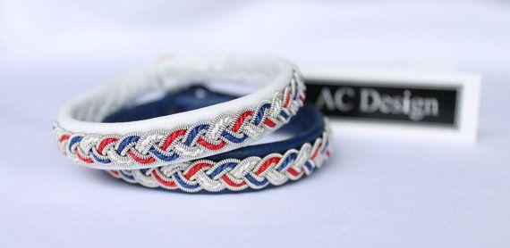 Sami bracelet viking bracelet patriotic bracelet by AC Design www.acdesign.se