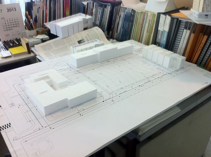 SFC Laboratory mass model SFC 연구소 마스터플랜 매스 모델