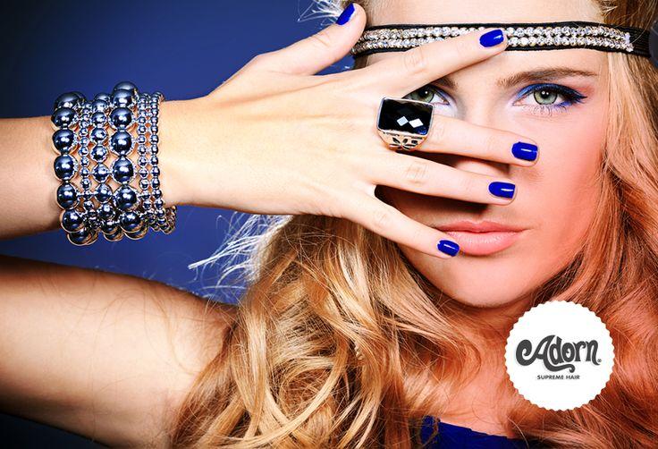Bijoux, nail art e make up tutto coordinato