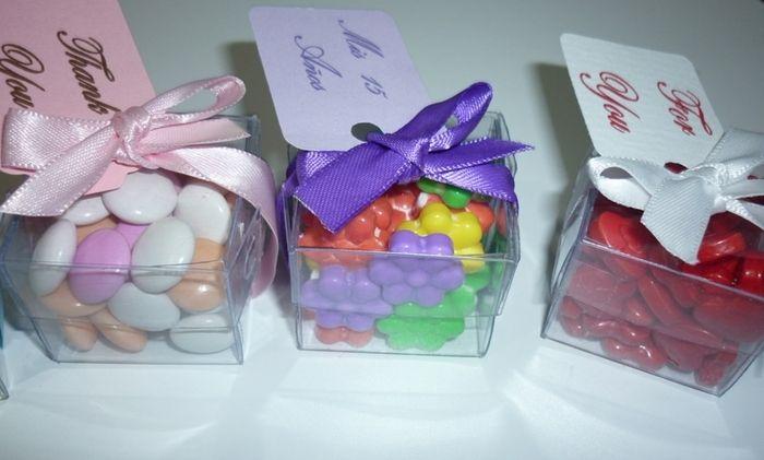 Bolsitas para dulces transparente buscar con google for Cajas de plastico transparente