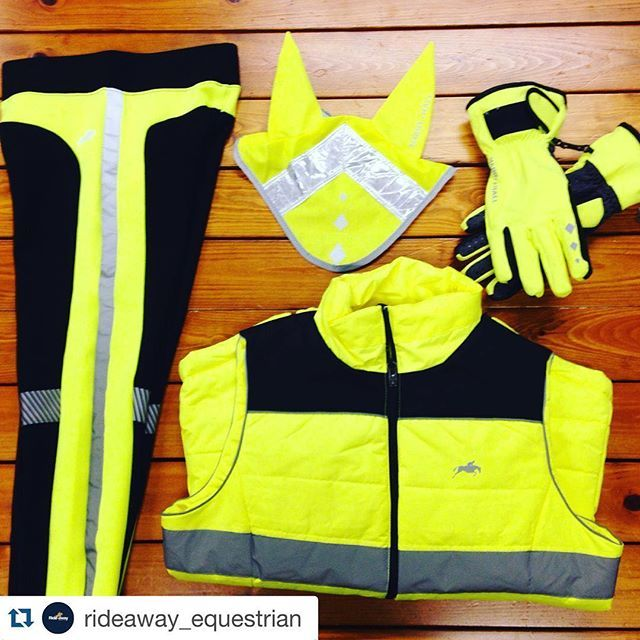 Make hi-viz your colour #seriousaboutsafety @rideaway_equestrian #Repost @rideaway_equestrian with @repostapp. ・・・ Be safe be seen this winter #safety #winter #horses #harryhall #reflective #equestrian #horses #horseriding #horsesofinstagram #ponies #horse #instawinter #rideaway