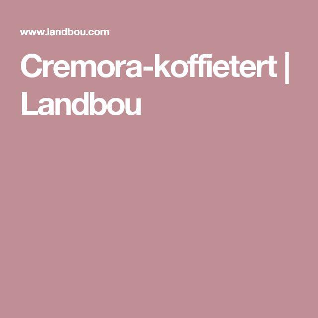 Cremora-koffietert | Landbou