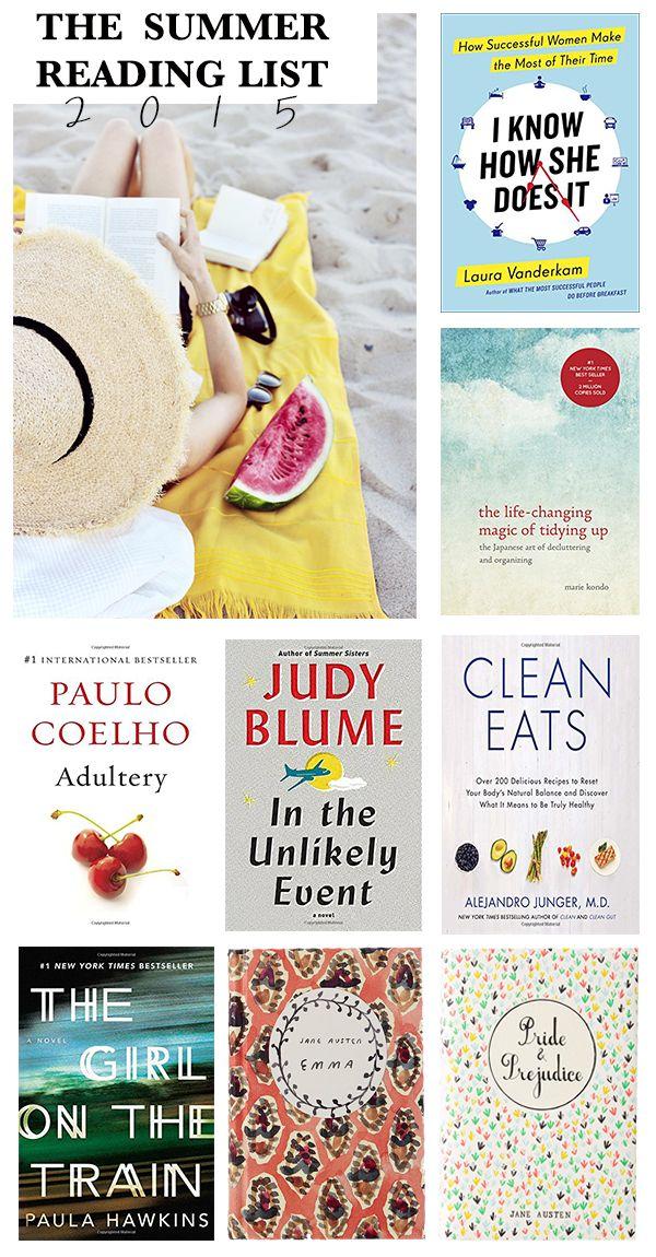 My Summer Reading List 2015 | Naina Singla