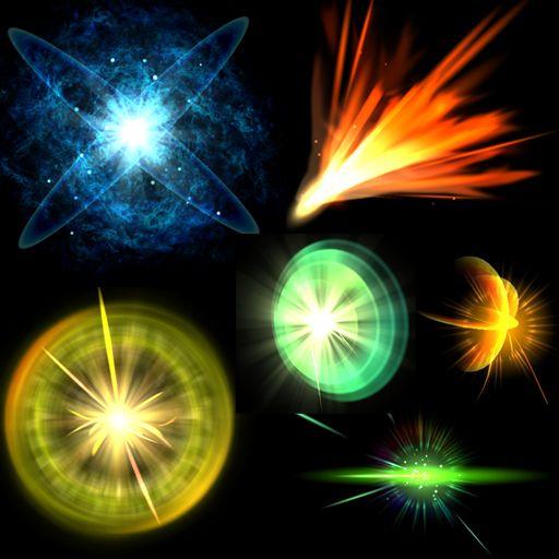 粒子 エフェクト - Google 検索
