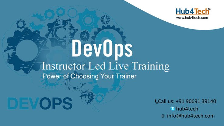 Learn DevOps from Hub4Tech and become an expert on Configuration Management, Continuous Integration-Deployment-Delivery-Monitoring using DevOps tools -  Git, Chef, Docker, Jenkins, Puppet, Ansible and Nagios to automate multiple steps in SDLC.