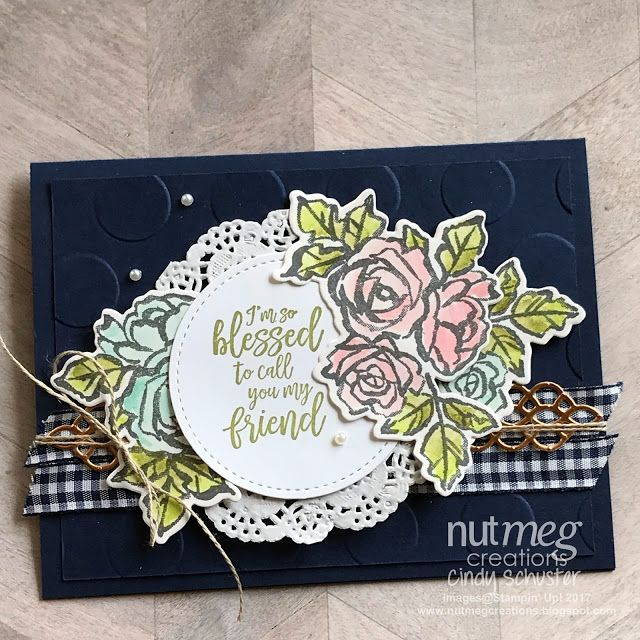 nutmeg creations: Fancy Friday - #MailacardMonday Challenge