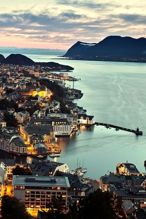 ALESUND, NORWAY  While in Alesund, visit the Atlantic Sea Park at Tueneset, the biggest saltwater aquarium in northern Europe. Visit in December for next-level skiing in the Sunnmore alps.