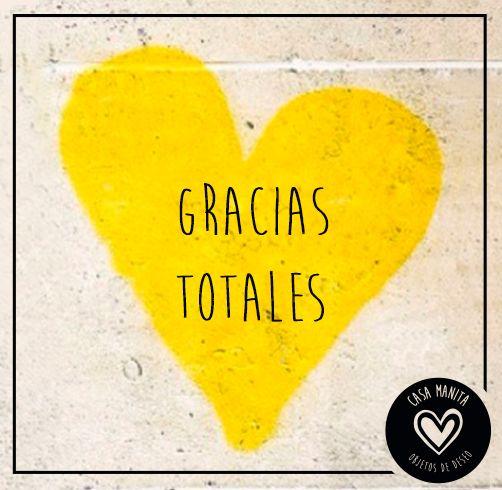 Gracias Totales, Gustavo.