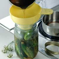 Dill Pickles. Something I can make if I get too may cucumbers this summer.