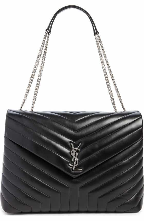 Free shipping and returns on Saint Laurent Medium LouLou Calfskin Leather  Shoulder Bag at Nordstrom.com. Exquisite matelassé stitc… a6a85dadc7409