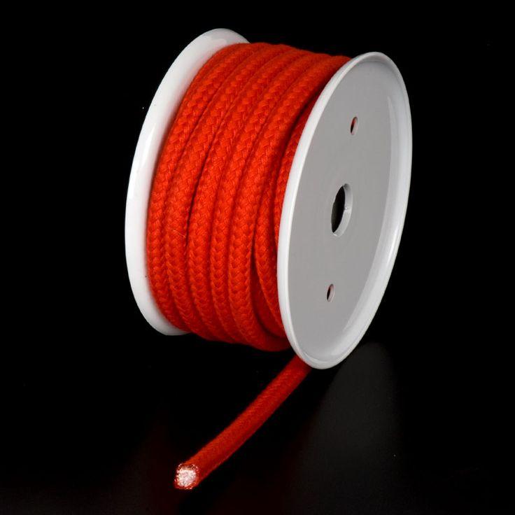 CUERDA POLIÉSTER DE COLORES - Gama de cuerdas de poliéster de 5 colores y 3 grosores apropiadas para aplicaciones tales como manualidades, joyería, amarres ligeros, ...