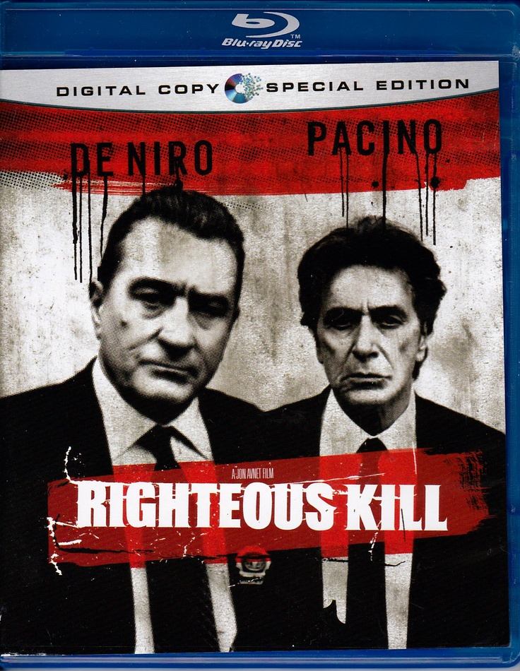 Righteous Kill 2008  Two veteran New York City detectives work on a case of serial executions of criminals who escaped justice.