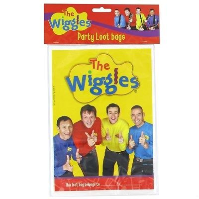 Wiggles Party Loot Bags Pk8