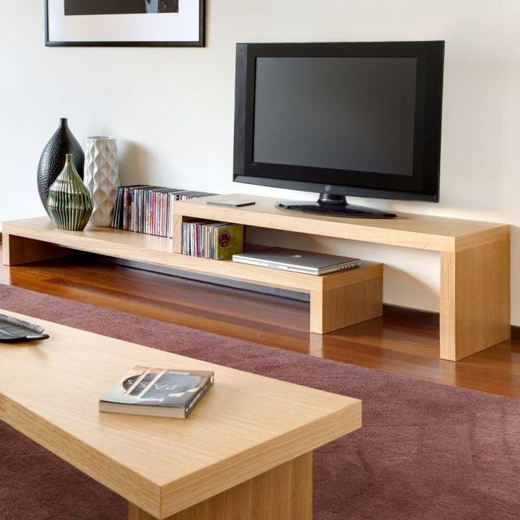 Mueble para lcd plasma en madera reciclada ideas para - Ideas mueble tv ...