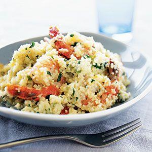 Lemon-Shrimp Couscous Risotto | MyRecipes.com