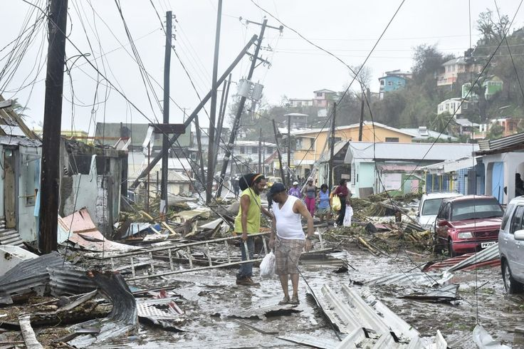 'Severe storm leaves about 700K without power in Northeast;' Puerto Rico, Dominica, St. Martins, and Virgin Islands still suffering; Will you consider the St. Lucia Prime Minister's warning?