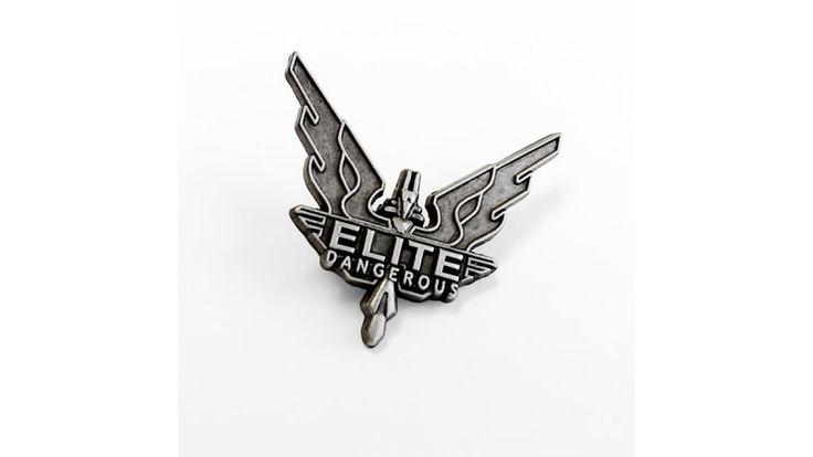 Elite Dangerous Pin Badge