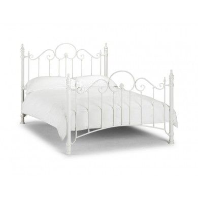 White metal Florence bed