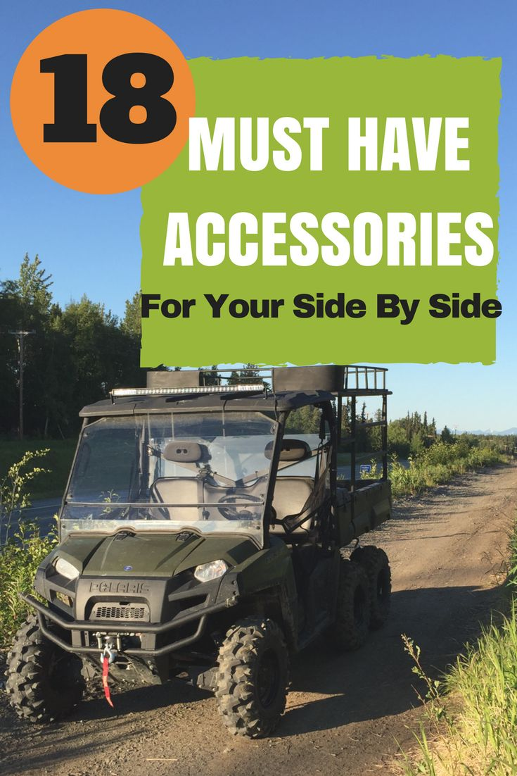 The top 18 accessories you need for your Polaris, Can-Am, Honda, Arctic Cat, Yam...