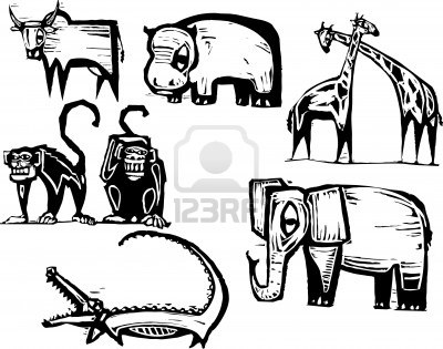Line Drawings Of African Animals : 18 best relief print images on pinterest art printmaking