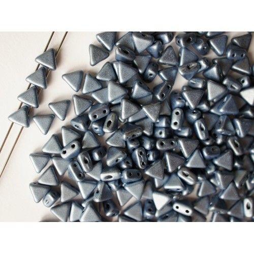 http://www.scarabeads.com/Glass-BEADS/Kheops-par-Puca/Metallic-Mat/50pcs-Kheops-par-Puca-6mm-2-hole-Czech-Glass-Pressed-Beads-Metallic-Mat-Blue