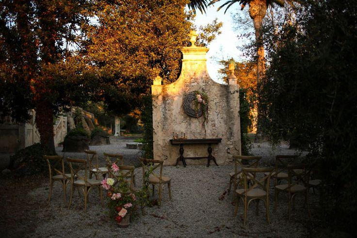 Inspiración: Una boda de otoño entre olivos (Tendencias de Bodas)