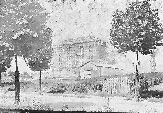 Maison de Famille - Lorsque cet édifice principal fut achevé Léon Eyrolles n'avait pas encore acheté le terrain en face. Les arbres, sur la nouvelle avenue, venait d'être plantés; le groupe scolaire Paul Bert n'était pas constuit