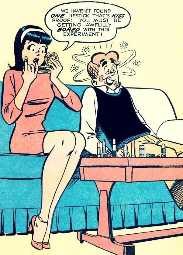 Veronica Lodge and Archie Andrews, Archie Comic Publications, Inc. https://www.pinterest.com/citygirlpideas/archie-comics/