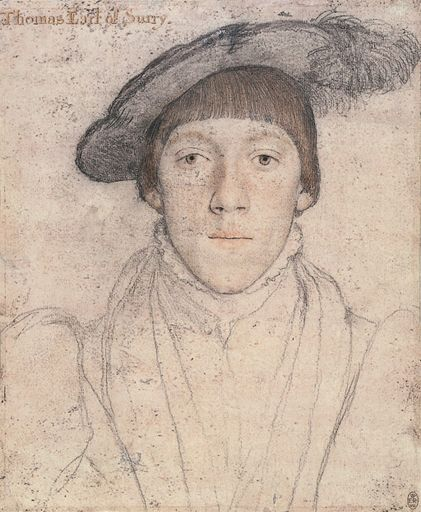 Hans Holbein portrait of Henry Howard