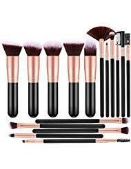16 Stück Make-up Pinsel Set Make-up Pinsel professionelle synthetische kosmetis…
