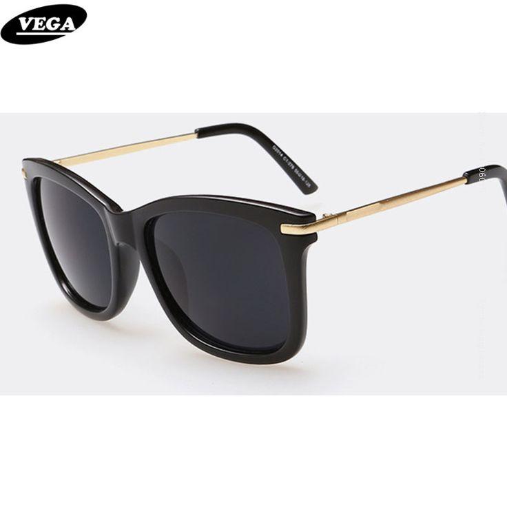 VEGA Latest Polarized Sunglasses for Ladies Novelty Sunglasses Female Funky Glasses with box UV 400 Progressive Lenses 014
