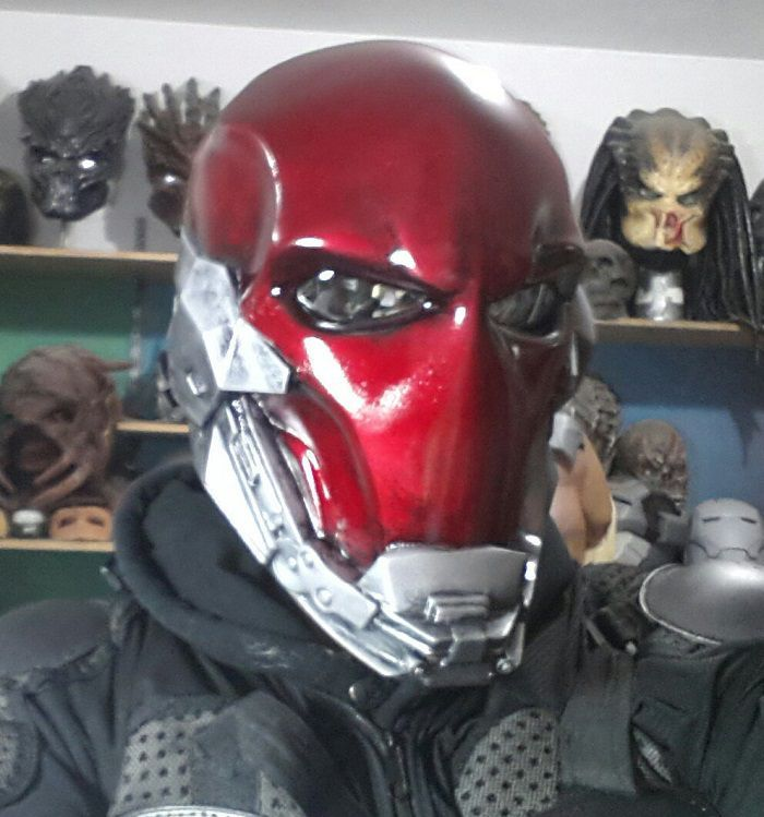 Red Hood Custom Helmet