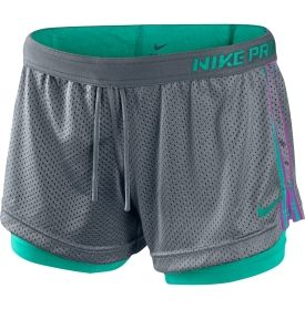 I love these Nike shorts with the built in spandex. So comfy!