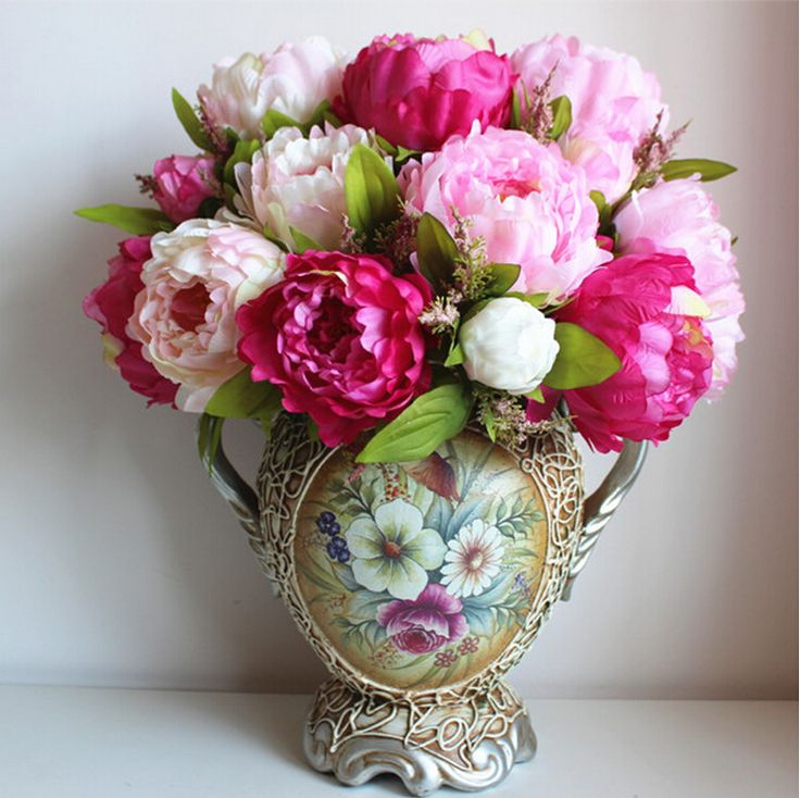 Popular Peony Centerpieces Buy Cheap Peony Centerpieces Lots From .