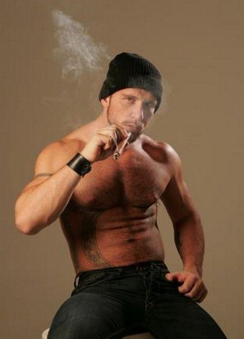 smoking muscle