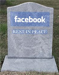 Facebook retaliates with its doomsday prediction for Princeton: California: Facebook is dying. By 2018 it will exist only in our memories and experimental laboratories. Comparing the most popular social networking site in the world with smallpox is a brave move but that's what Princeton university researchers John Cannarella and Joshua Spechler have done. http://tvnews4u.com/article/969/5/facebook-retaliates-with-its-doomsday-prediction-for-princeton#.UuNTJ_vhXIU